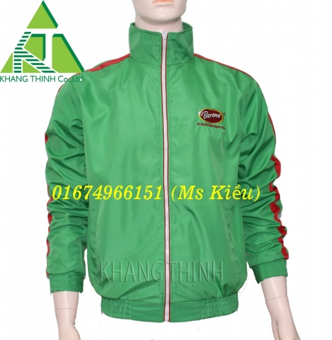 May áo khoác đồng phục 3