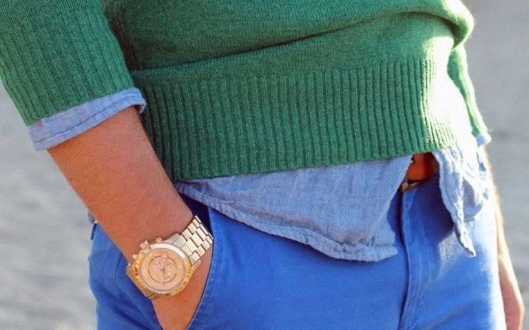 Cách phối màu quần áo 2