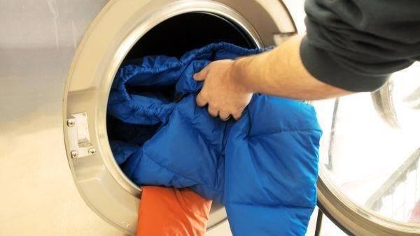 Cách giặt áo lông vũ tại nhà 2